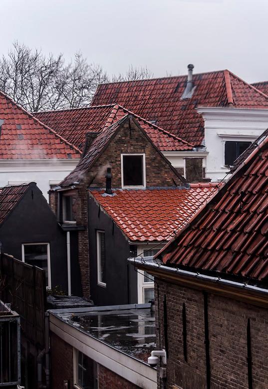 Rooftops  - Leuk om over de daken van Zierikzee heen te kijken, ze staan kris kras door elkaar wat een speels gezicht geeft. <br /> <br /> Bedankt v