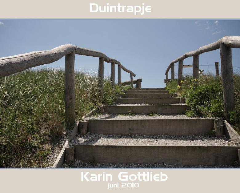 Duintrapje - Zomaar een trapje in de duinen bij Egmon aan zee.<br /> <br /> Groetjes,<br /> <br /> Karin