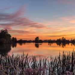 zonsondergang Steendert
