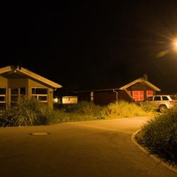 licht in de nacht