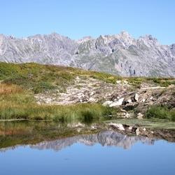 Vennetje, Zonnenkopf,Klostertal, Oostenrijk
