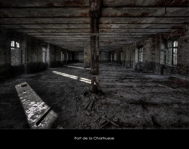 """LaChartreuse 3 - Welbekend verlaten Fort """"ergens"""" in Belgie,.."""